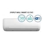 Настенный внутренний блок SYSPLIT WALL SMART 09 V2 EVO HP Q